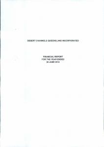 DCQ Audited Financials Statements 2013-14