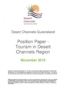 DCQ Position Paper Tourism