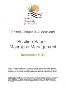 DCQ Position Paper_Kangaroos_Nov19